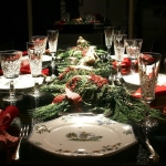 Exquisite Christmas Dining Room Table Ideas