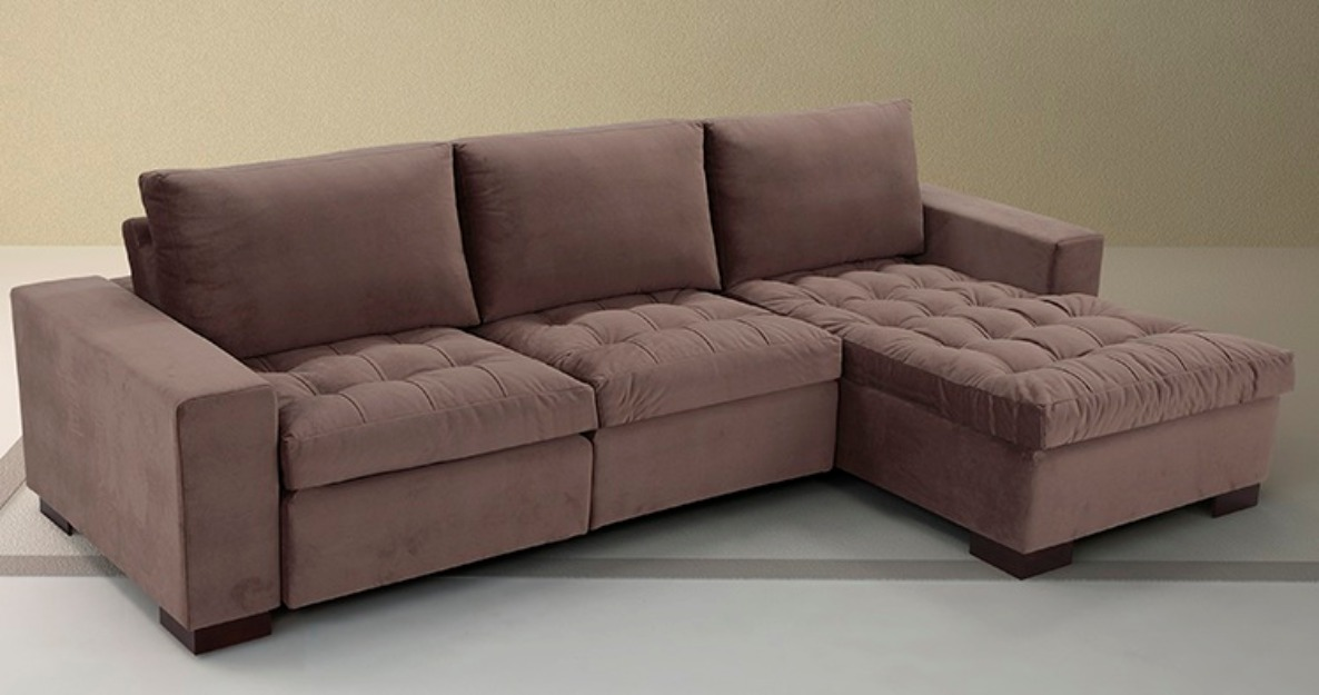 Sofa Com Chaise Long Retratil Memsaheb Net